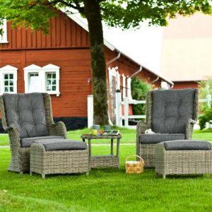 2 Seater Rattan Conversation Set