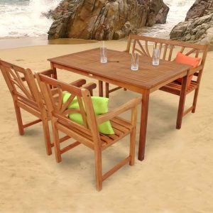 Adish 4 Seater Dining Set