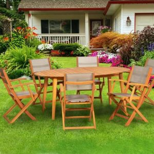 Allaire 6 Seater Dining Set