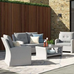 Angelyn 4 Seater Rattan Sofa Set