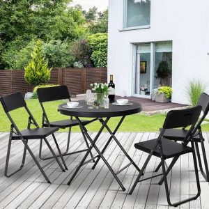 Anndale 4 Seater Bistro Set