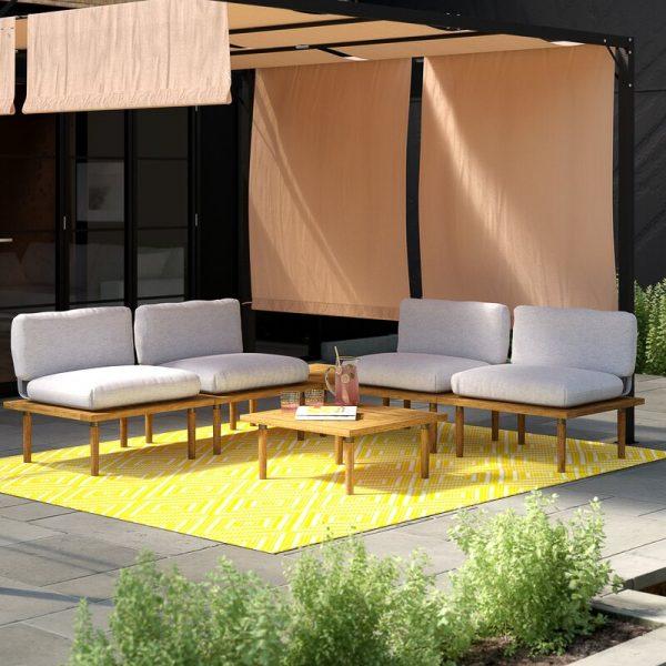 Bulwell 4 Seater Sofa Set
