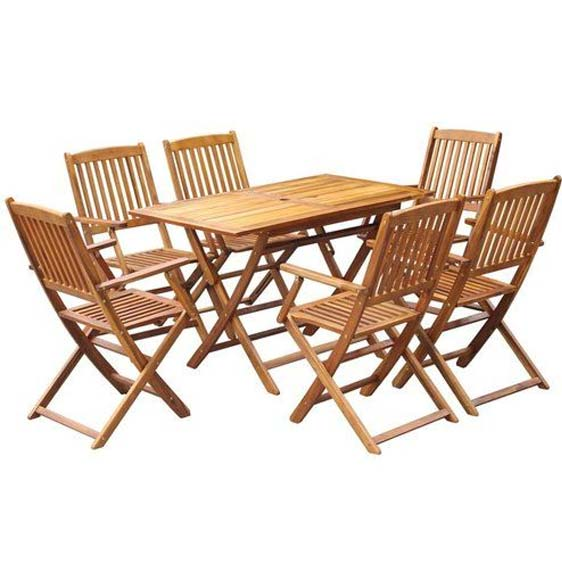 Calley 6-Seater Dining Set