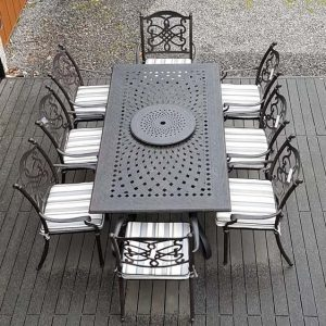 Canouan 8 Seater Dining Set