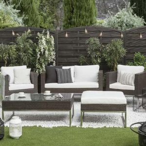 Casto 5 Seater Rattan Sofa Set