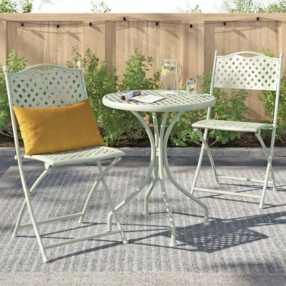 Christopher 2 Seater Bistro Set