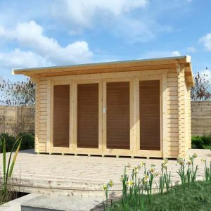 Clara 14x10 Garden Log Cabin