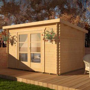 Corbetti 10x8 Garden Log Cabin