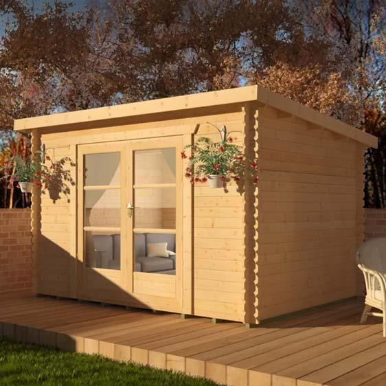Corbetti 12x8 Garden Log Cabin
