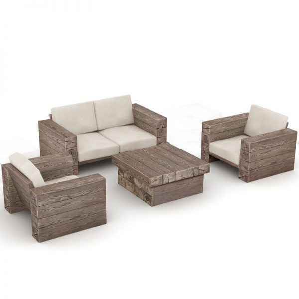 Corum 4 Seater Sofa Set