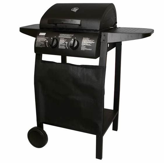 Deluxe 2-Burner Barbecue Grill