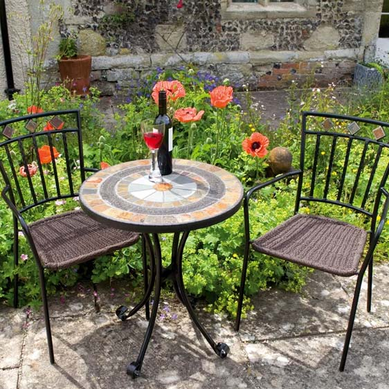Donald 2 Seater Bistro Set
