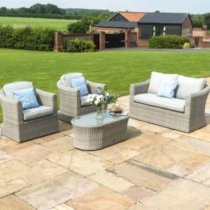 Dulce 4 Seater Rattan Sofa Set