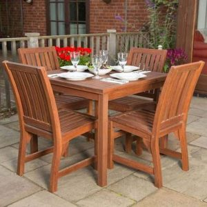 Evelynn 4 Seater Dining Set