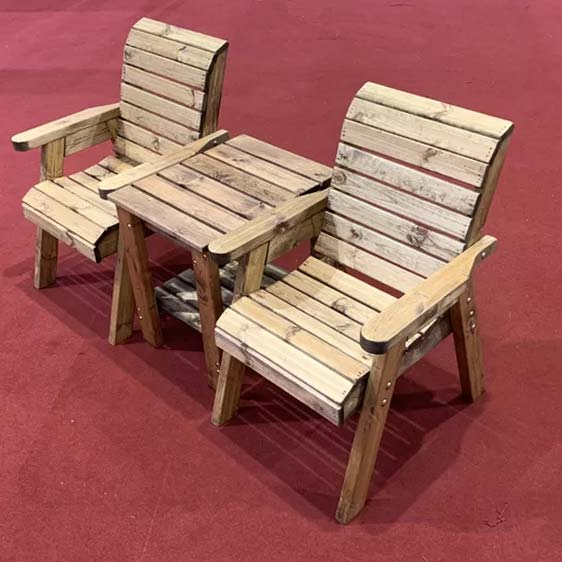 Farrar 2 Seater Conversation Set