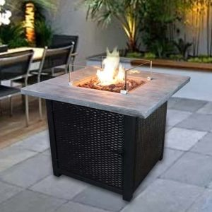 Fraida Propane Fire Pit Table