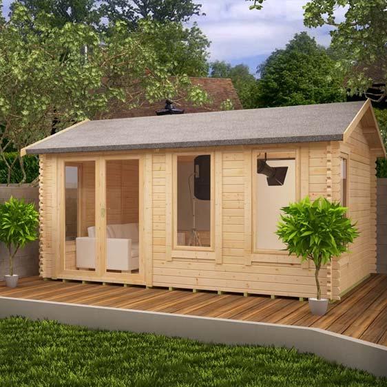 Gamma 20x10 Garden Log Cabin
