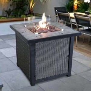 Garfinkel Propane Fire Pit Table
