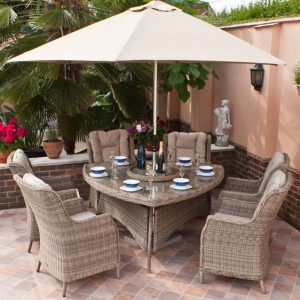 Graciela 6 Seater Dining Set