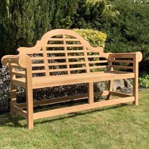 Hatherleigh Lutyen Teak Bench