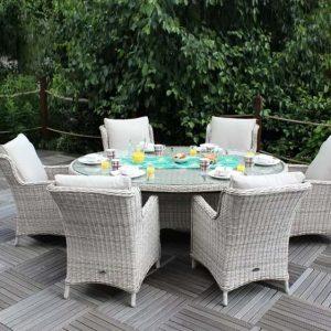 Hermina 6 Seater Dining Set
