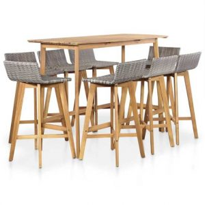 Hortense 9 Piece Bar Set
