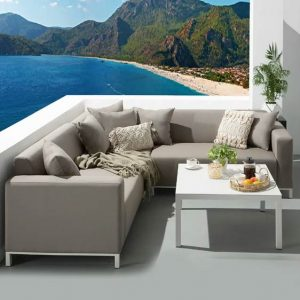 Ibtissem 5 Seater Corner Sofa Set