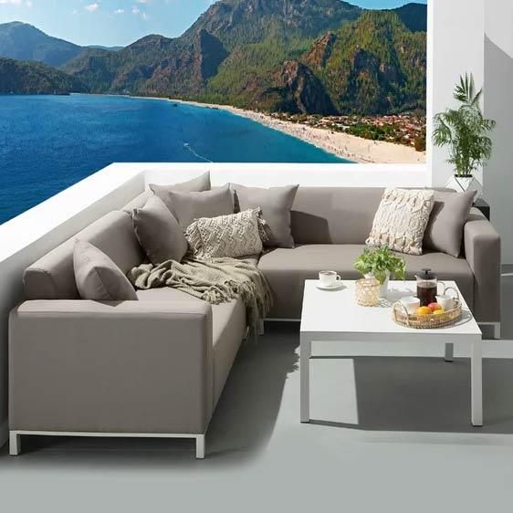 Ibtissem 5 Seater Corner Sofa Set