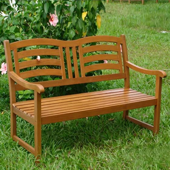 Izaguirre Wood Traditional Bench