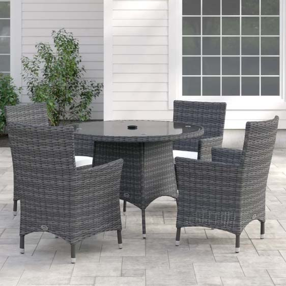 Jessee 4 Seater Dining Set