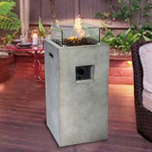 Jonsson Concrete Propane Fire Pit