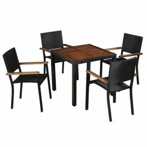 Kaelyn 4 Seater Dining Set
