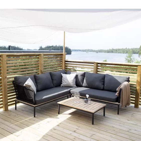 Kavya 5 Seater Corner Sofa Set