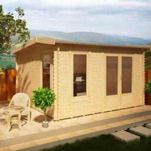 Lavinia 12 x 10 Garden Log Cabin
