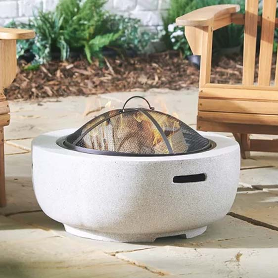 Metal Charcoal Fire Pit