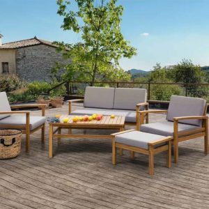 Nido 5 Seater Garden Set