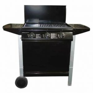 Nyberg 3-Burner Portable Gas Grill