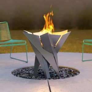 Redfield Burning Fire Pit