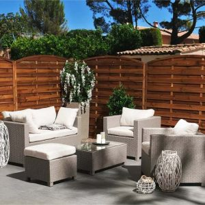 Rhea 5 Seater Rattan Sofa Set