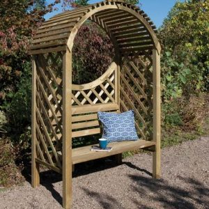 Roepke Wooden Arbour