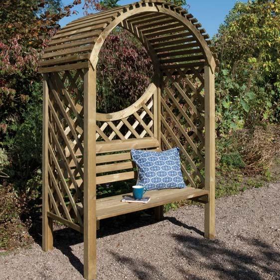 Roepke Wooden Arbour
