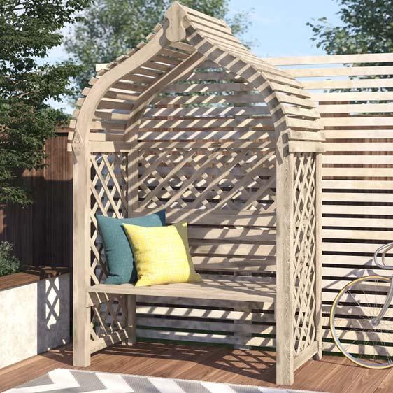 Rondeau Wooden Arbour