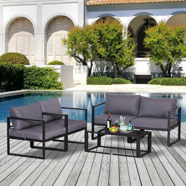 Shynel 4 Seater Sofa Set