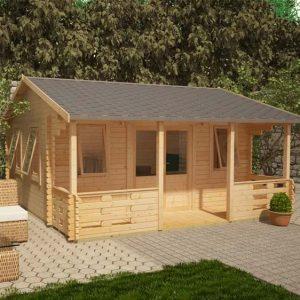 Sigma 20x20 Garden Log Cabin