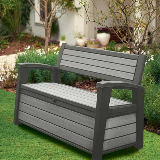 Stylish Plastic Bench
