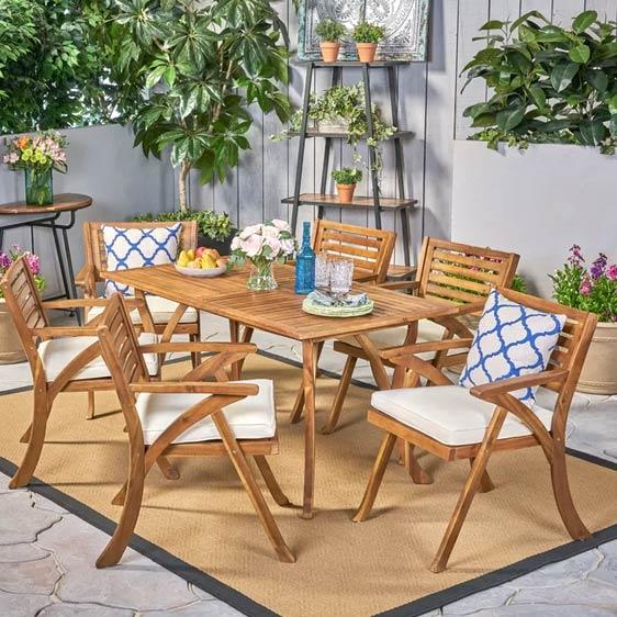 Tamra 6 Seater Dining Set