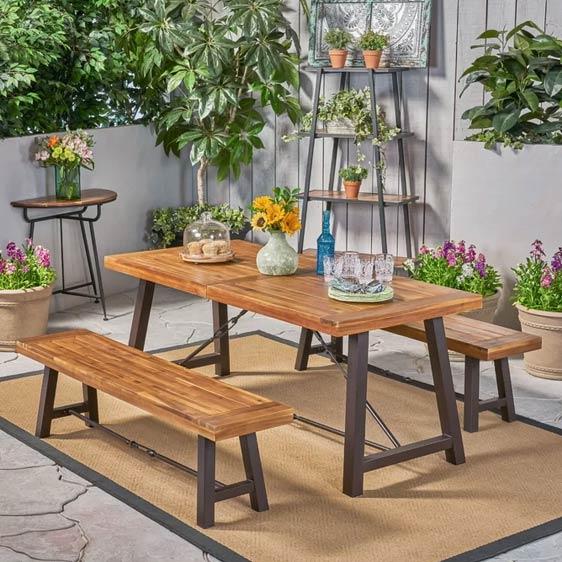Teri 4 Seater Dining Set