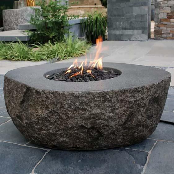 Vesuv Concrete Fire Pit Table