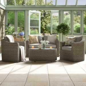 Waterton Rattan Sofa Set