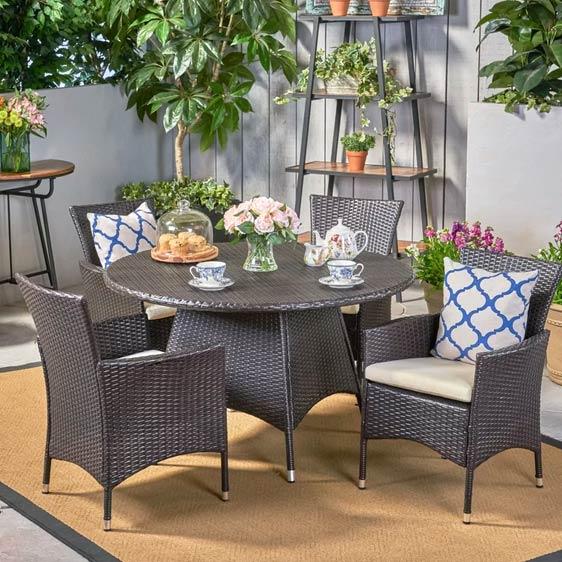 Wendi 4 Seater Dining Set